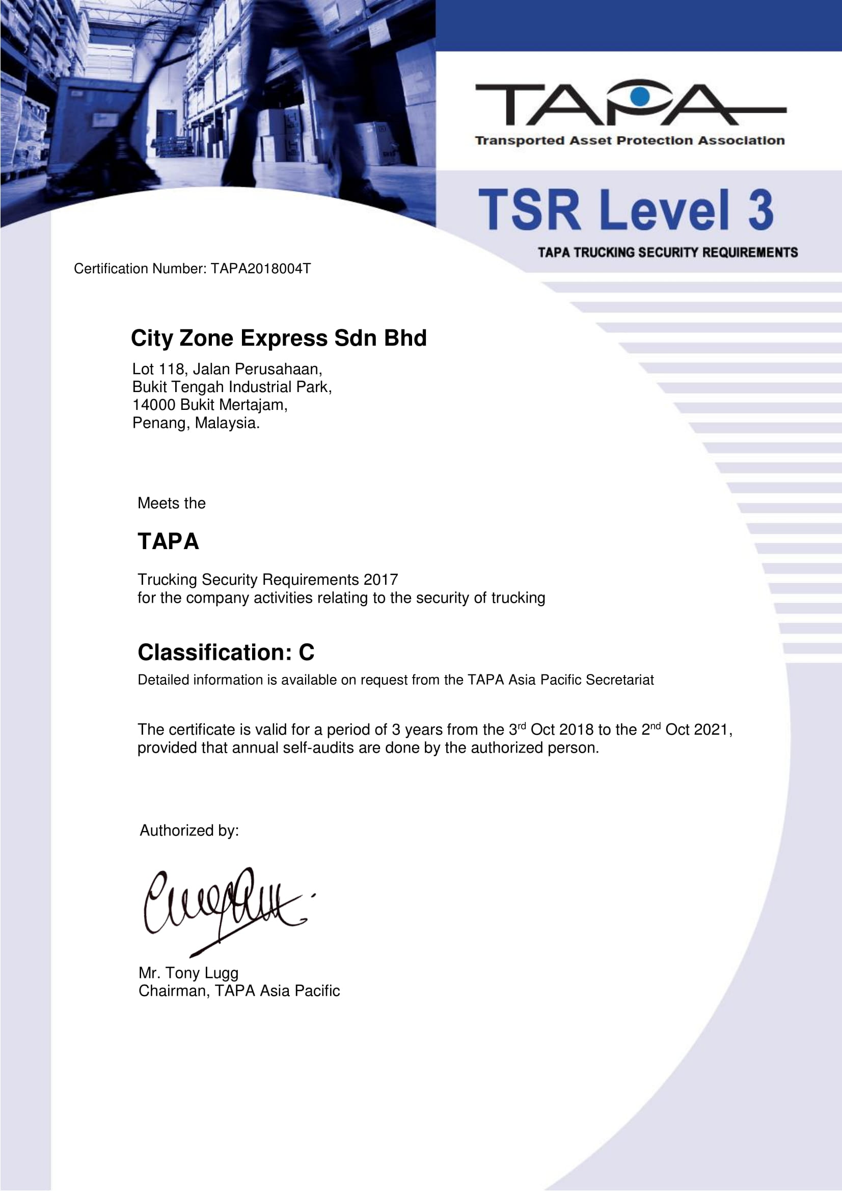 TAPA2018004T - City Zone Express Sdn Bhd-1
